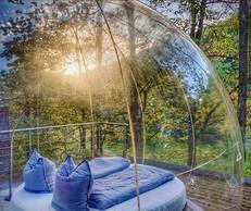 """The view from the """"bubble""""   Photo: La Grange d'Hélène"""