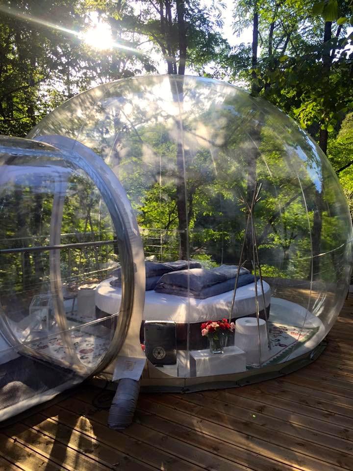 """The """"bubble""""  Photo: La Grange d'Hélène"""