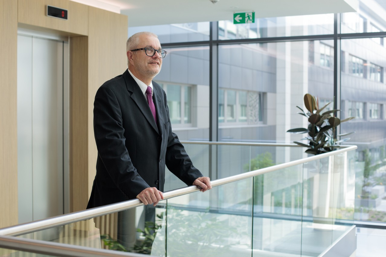 Romain Bontemps, managing partner de Grant Thornton Luxembourg. (Photo: Matic Zorman)