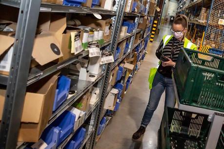 L'enseigne Greenweez appartient au groupe Carrefour, et, depuis son dépôt au sud de Bruxelles, elle couvre l'ensemble du Benelux. (Photo: Greenweez)