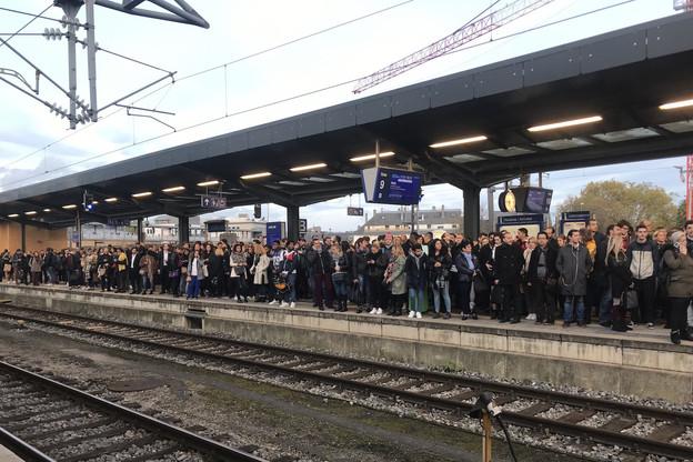 Quelque 12.000frontaliers lorrains prennent le train pour se rendre au Luxembourg. (Photo: Paperjam)