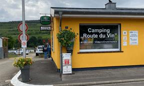 Petite structure au cœur de Grevenmacher, le camping «Route du vin» compte 130emplacements. ((Photo: Paperjam))
