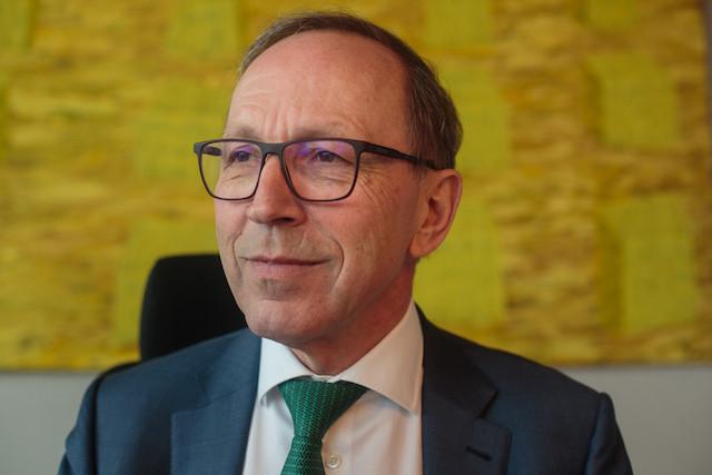 Robert Scharfe explique que la Bourse lancera prochainement une Académie de la finance durable. (Photo: Matic Zorman / Archives)