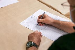 22.606 électeurs se sont rendus aux urnes ce dimanche à Metz, soit 32,37% de participation. ((Photo: Romain Gamba/Maison Moderne))