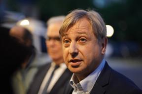 François Grosdidier est le nouveau maire de Metz avec 197 voix de plus que son adversaire Xavier Bouvet. ((Photo: Romain Gamba/Maison Moderne))