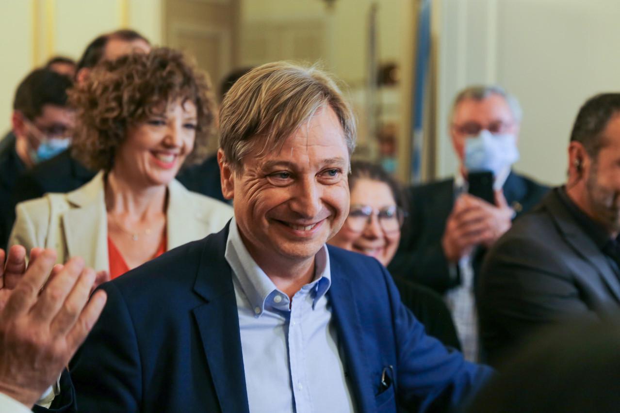 François Grosdidier, avec sa liste Utile pour Metz, a ravi la mairie de Metz à la gauche pour 197 voix. (Photo: Romain Gamba/Maison Moderne)