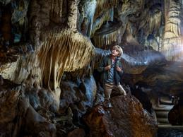 La visite de la grotte de Han dure 1h15. ((Photo: Domaine des grottes de Han))