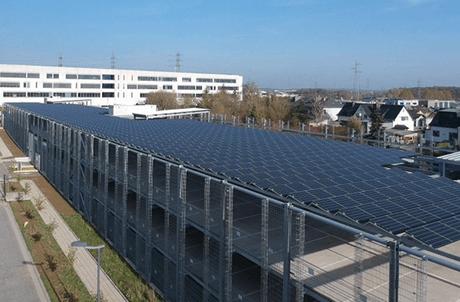 La société Astron est spécialisée dans la construction métallique, comme les parkings en silo. En février dernier, elle a d'ailleurs inauguré le premier parking solaire à Esch-sur-Alzette. (Photo: Astron)