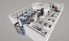 L'immeuble est réaménagé pour accueillir plusieurs locataires. ((Illustration: Panhard Luxembourg))