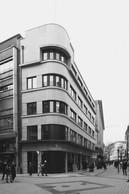 Vue du bâtiment aujourd'hui, avec la façade rénovée. ((Photo: Sven Becker))