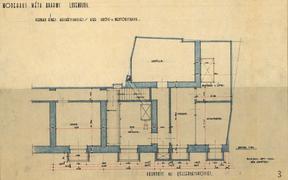 Plan d'un étage de l'immeuble. ((Illustration: D.R.))