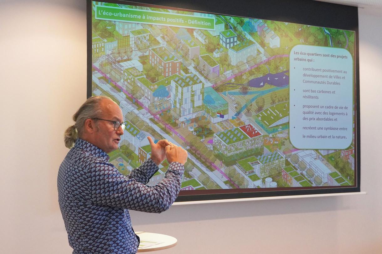 Le ministre de l'Aménagement du territoire ClaudeTurmes a présenté le nouveau guide «Éco-Urbanisme». (Photo:DATer)