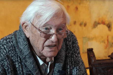 Gust Graas s'est éteint à 95 ans. Il restera un de ceux qui ont façonné le visage moderne du Luxembourg au cours du 20e siècle. (Photo: CLT/YouTube/Capture d'écran)
