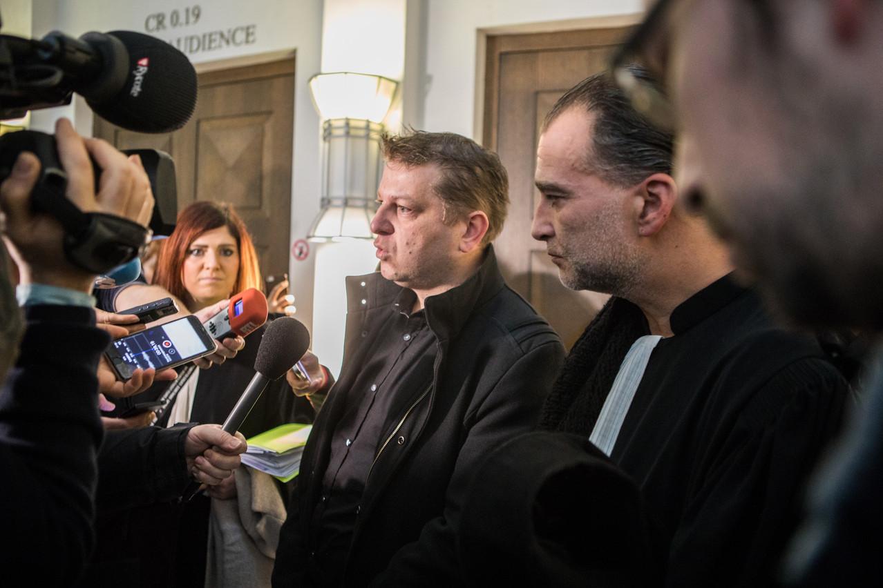 RaphaëlHalet n'est pas parvenu à faire admettre à la Cour européenne des droits de l'Homme que sa liberté d'expression avait été contrariée par la justice luxembourgeoise. (Photo: EdouardOlszewski/Archives)