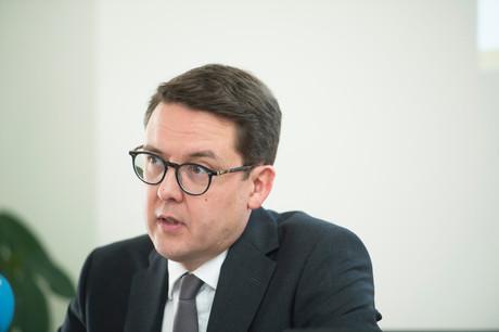 YvesNosbusch, chef économiste de BGL BNP Paribas, se montre optimiste par rapport à l'évolution de l'inflation. (Photo: AnthonyDehez/archives)