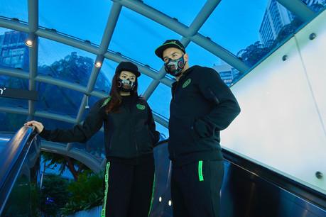 Hazel, le nouveau masque intelligent de Razer, répond à toutes les problématiques posées par les masques en tissu ou chirurgicaux utilisés depuis le début de la pandémie de Covid-19. (Photo: Razer)