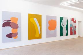 """Œuvres d'Helmut Dorner présentées dans l'exposition """"Zwischen Tor und Torschrei"""" ((Photo: Tania Bettega / Nosbaum Reding))"""