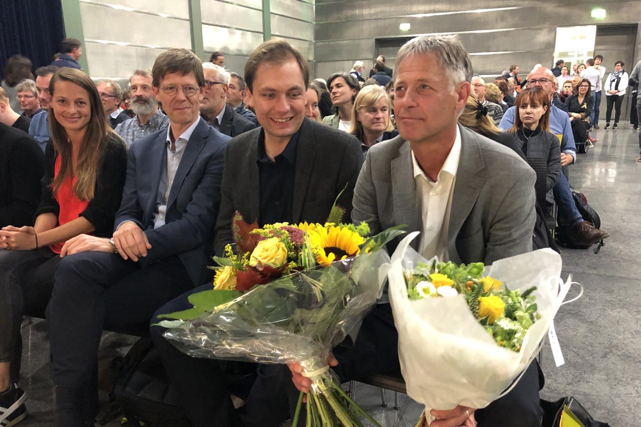 Henri Kox devient ministre du Logement, avec 3 votes contre sa candidature, 4 abstentions et 259 oui.  (Photo: Paperjam)