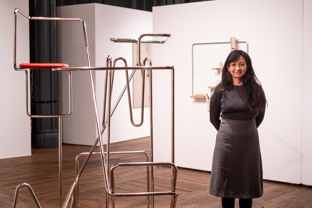 L'artiste Hisae Ikenaga a remporté les voix du jury du Leap 2020. (Photo:Lynn Theisen / Rotondes)