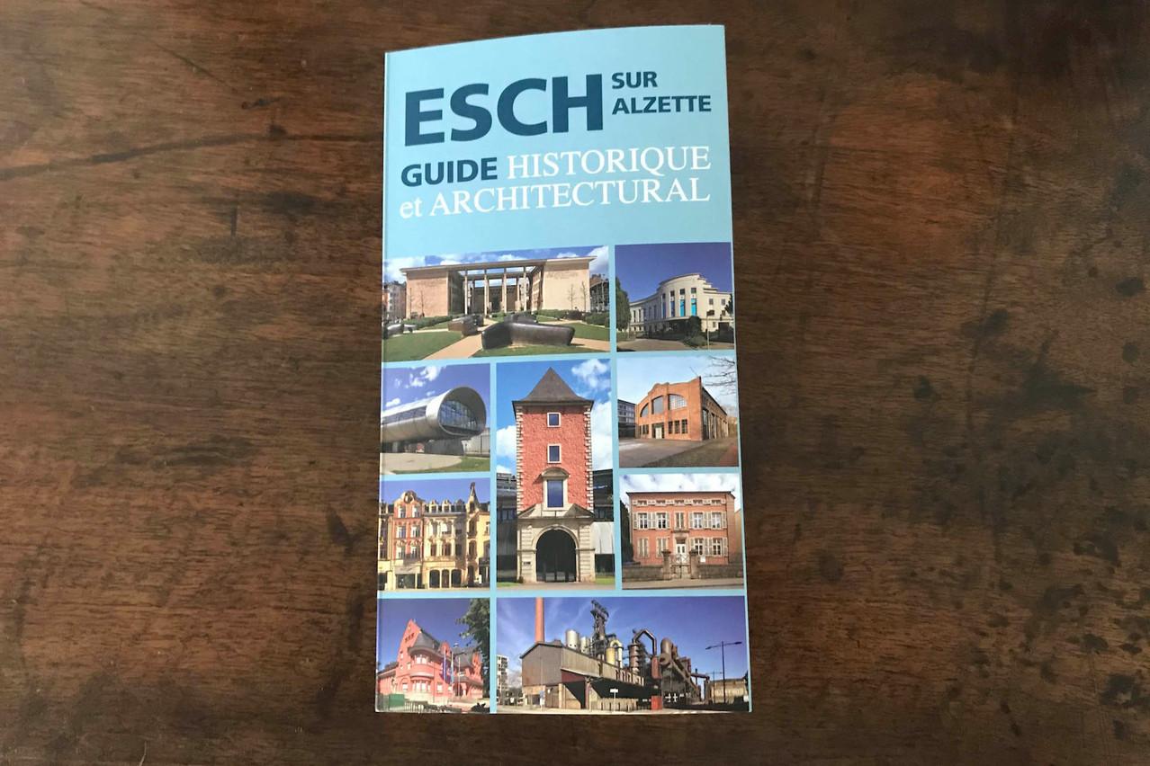 Ce guide est une invitation à découvrir le patrimoine d'Esch-sur-Alzette. (Photo: Paperjam)