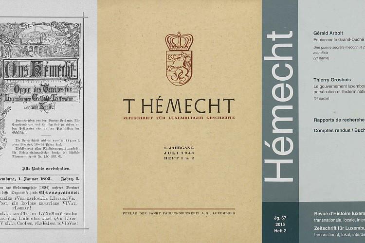 La revue «Hémecht» est disponible en ligne. (Photo: BNL)