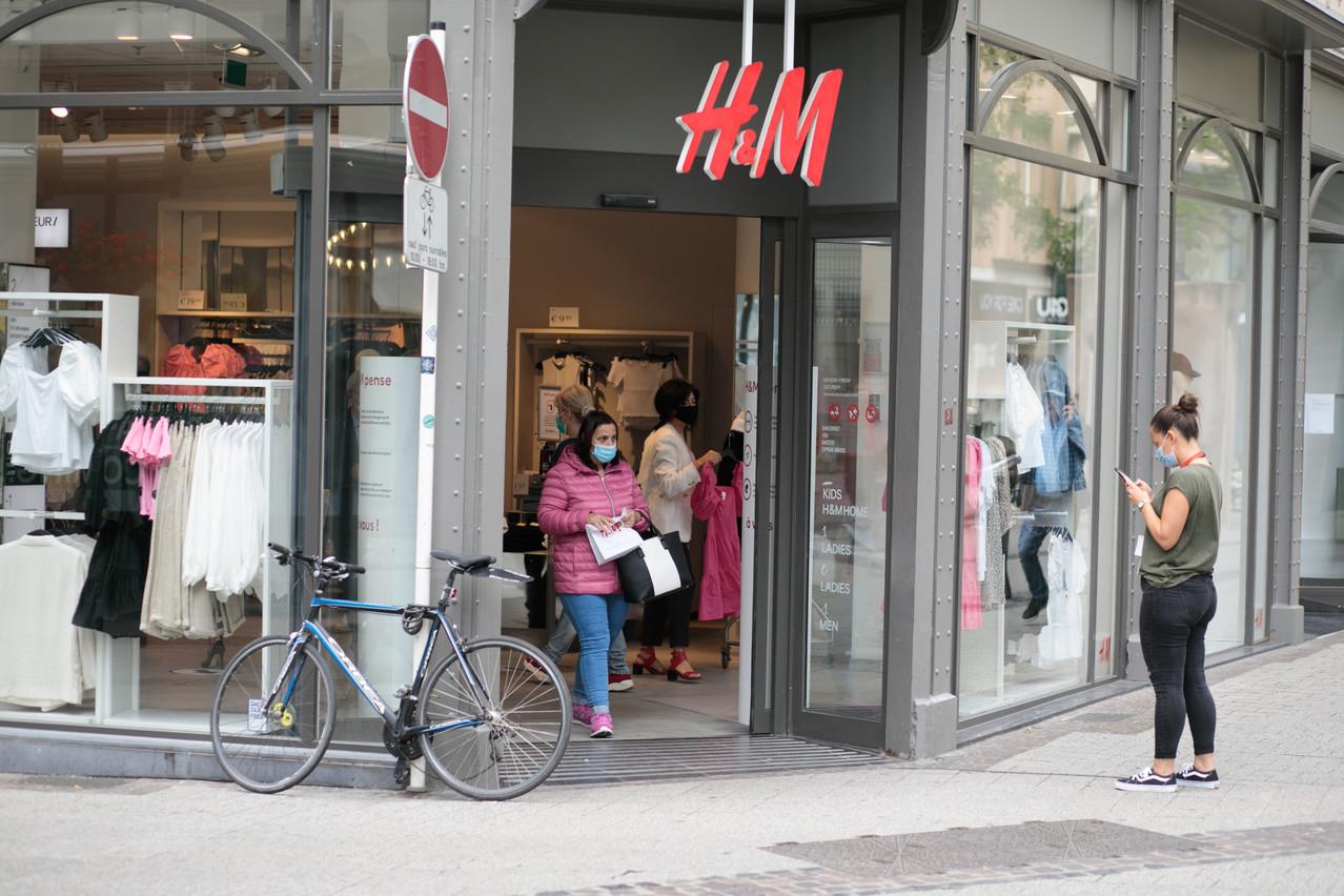 Le parc de magasins du groupe H&M est resté stable au Luxembourg, avec 14 points de vente. (Photo: Matic Zorman/Maison Moderne)