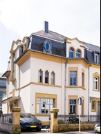 Aatika Hayat and her husband restored this 1920s townhouse in Hollerich. Photo provided by Aatika Hayat