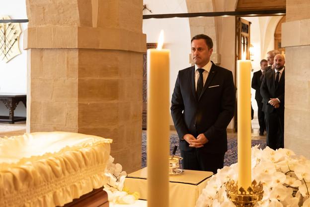 Xavier Bettel (Premier ministre) (Photo: Cour grand-ducale / Claude Piscitelli)