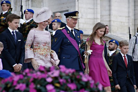 Le roi Philippe de Belgique et son épouse, la reine Mathilde, seront à Luxembourg samedi. (Photo: Shutterstock)