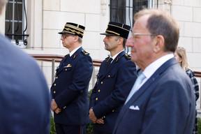 Des représentants des premiers intervenants et de la communauté militaire luxembourgeoise étaient également présents à la cérémonie. ((Photo: Matic Zorman/Maison Moderne))