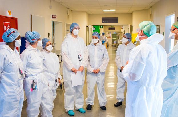 Un rapport de la Direction de la santé s'inquiète d'une situation tendue dans les hôpitaux. Même si le nombre des infections et des malades hospitalisés diminuent. (Photo: CHL/Facebook)