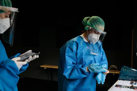 La future asbl devra notamment gérer tout le stock de matériel nécessaire dans le cadre de la lutte contre l'épidémie. (Photo: Matic Zorman/Maison Moderne/Archives)