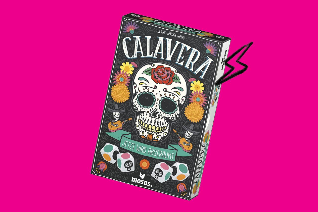 Pour une soirée conviviale au bistrot, sortez Calavera, le nouveau jeu de l'Horesca. (Photo: Horesca)