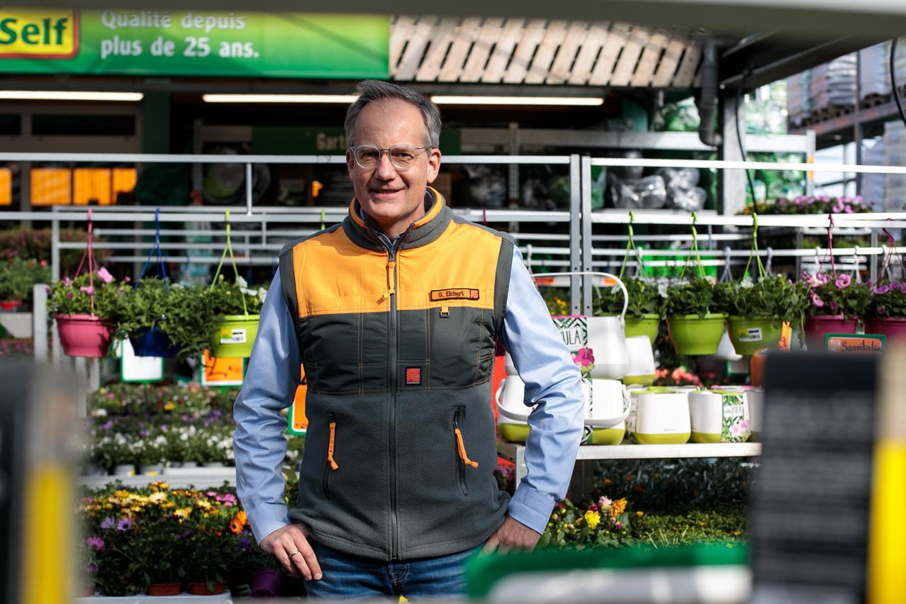 Günter Eichert pilote 15magasins Hornbach situés en Allemagne, en plus du point de vente luxembourgeois de l'enseigne. (Photo: Matic Zorman/Maison Moderne)