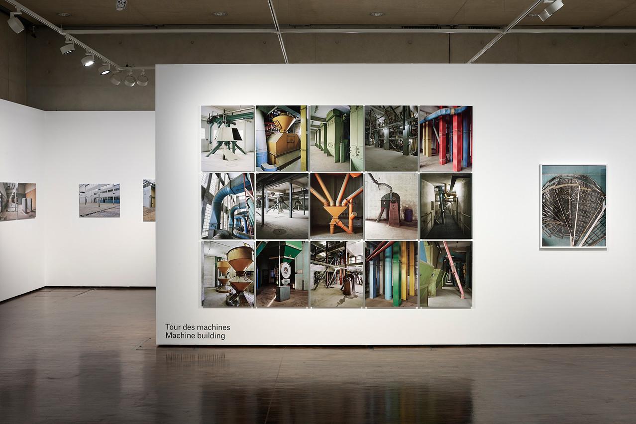 Vue de l'exposition deChristian Aschman, «Hors-Champs». (Photo: Romain Girtgen, CNA)