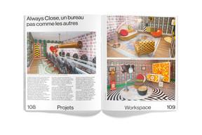 Vue des pages intérieures du magazine. ((Photo: Maison Moderne))