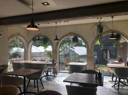 La grande salle du restaurant permet d'accueillir environ 60 couverts. Le but: passer à 80. ((Photo: Paperjam.lu))