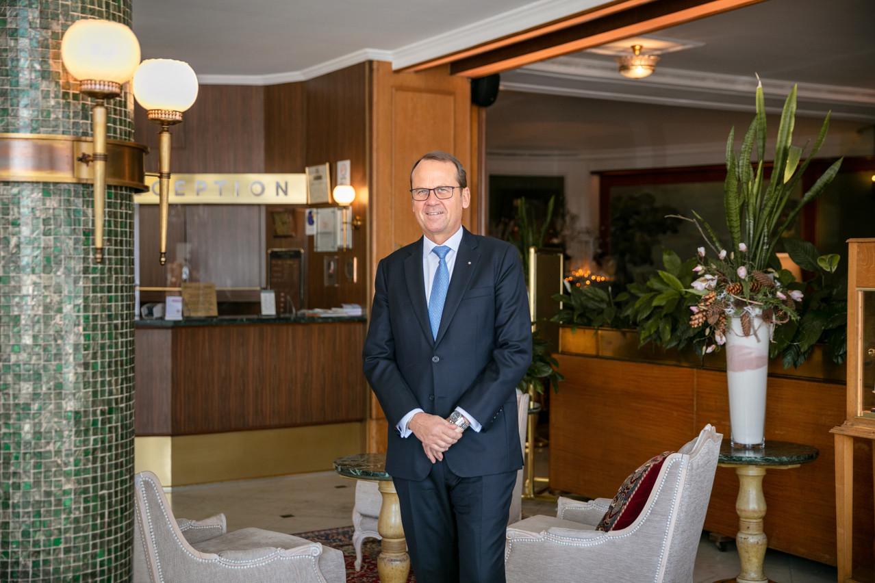 Carlo Cravat, quatrième génération à la tête de l'hôtel familial. (Photo: Romain Gamba/Maison Moderne)