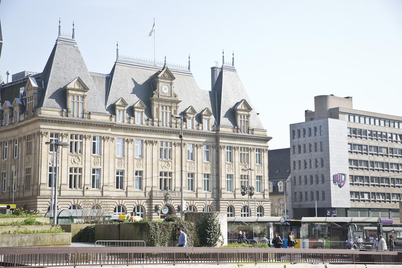 L'Hôtel des postes est un des bâtiments emblématiques du centre-ville de Luxembourg. (Photo: Benjamin Champenois/Archives Paperjam)