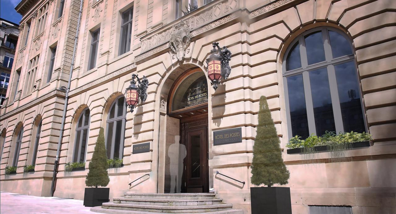 L'Hôtel des Postes sera une réhabilitation respectueuse de l'existant et de la valeur culturelle du bâtiment. (Illustration: Post Luxembourg)