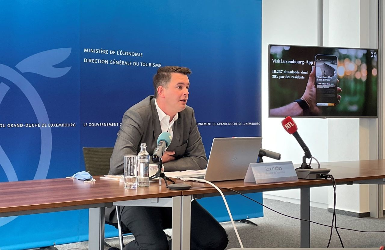 Tourism is coming back to the grand duchy, says tourism minister Lex Delles. Photo: MECO