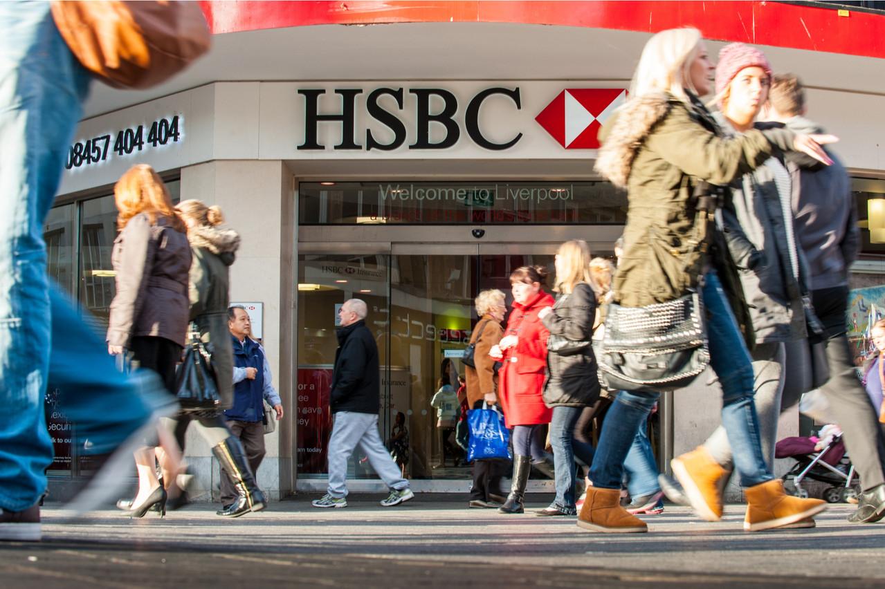 HSBC a annoncé une restructuration destinée à lui faire économiser 4,5 milliards de dollars par an d'ici 2022. (Photo: Shutterstock)