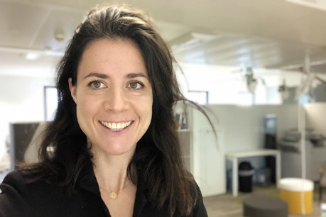 Amélie Madinier, CEO du Hub@Luxembourg, compte exploiter toutes les synergies possibles avec le groupe Crédit Agricole. (Photo: Hub@Luxembourg)