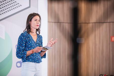 Amélie Madinier dirigeait le Hub@Luxembourg du Crédit Agricole. Avec le déménagement au Glacis, elle devient la «maire» du «Village by CA», l'accélérateur luxembourgeois qui rejoint le puissant réseau français. (Photo: Jan Hanrion/Maison Moderne)