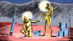Extrait des comics d'HugoGernsback ((Photo: DR))