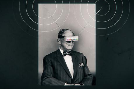 HugoGernsback avait inventé avant l'heure les lunettes de réalité virtuelle. (Photo: DR)