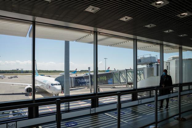 Luxair a été la première compagnie à reprendre les vols au Findel. Elles sont maintenant huit. Le 4 juillet, elles seront neuf avec KLM. (Photo: Romain Gamba/Maison Moderne)