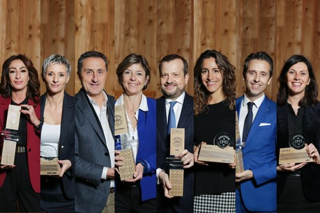 Huit entreprises ont reçu leur label, cinq pour la première fois et trois pour la seconde fois. (Photo: Romain Gamba / Maison Moderne)