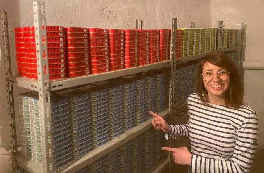 L'an dernier, CharlotteRipetti et MySardines avaient lancé la première cryptomonnaie adossée… à des boîtes de sardines. Un succès. (Photo: MySardines)