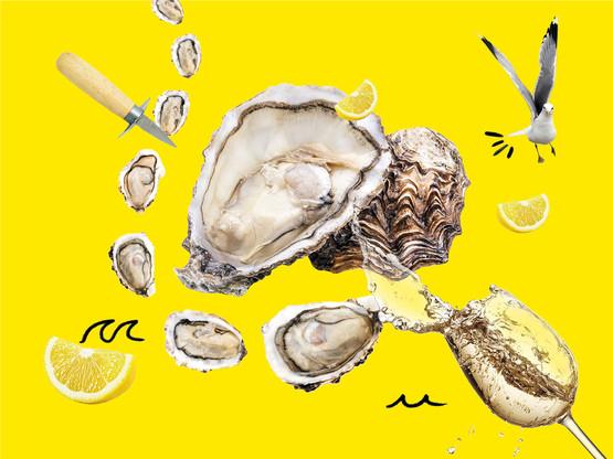 La saison des huîtres débarque, et on ne va pas s'en plaindre! (Design : Sophie Melai / Maison Moderne)